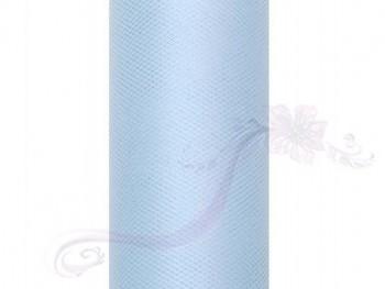 Tyl v roli, sv. modrý 30cm/9m