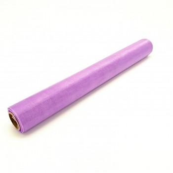 Organza hladká lila 36cm/9m