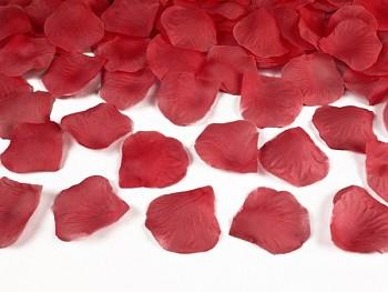Plátky růží, červené