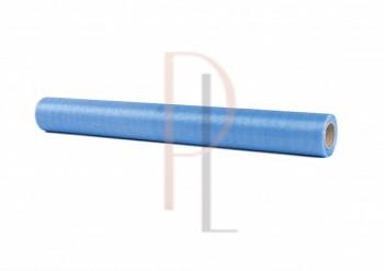 Organza sněžná modrá, 16cm/9m
