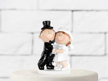 Figurka novomanželé baculky  10,5cm
