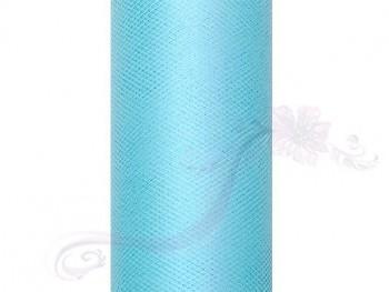 Tyl v roli tyrkysový 15 cm x 9 m - 731191208