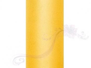 Tyl v roli žlutý 15 cm x 9 m - 731191209