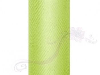 Tyl v roli světle zelený 15 cm x 9 m - 731191242