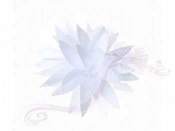 Svatební vývazky květ bílý