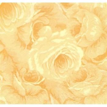 Ubrousek růže  ŽLUTÁ, 50 ks