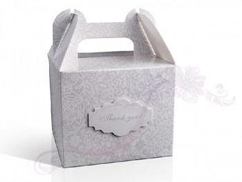 """Svatební krabička na zákusky """"Thank you"""""""