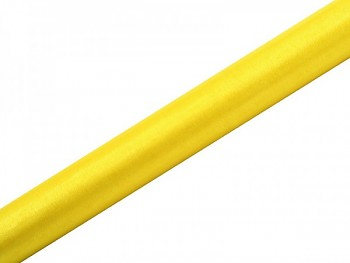 Organza hladká žlutá 36cm/9m