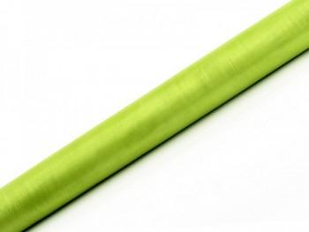 Organza hladká sv.zelená 36cm/9m