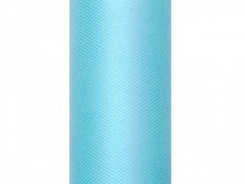 Tyl v roli tyrkysový 15 cm x 9 m - 731191562