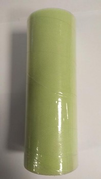 Tyl v roli světle zelený 15 cm x 9 m - 731191563