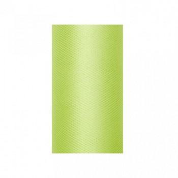 Tyl v roli světle zelený 30 cm x 9 m - 731191604