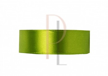 Saténová stuha zelená, 6mm/25m
