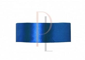 Saténová stuha královká modrá, 25mm/25m