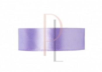 Saténová stuha  světlá lila, 50mm/25m