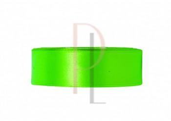 Saténová stuha zelená Z, 6mm/25m