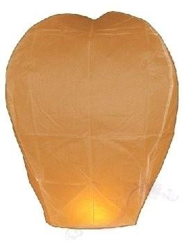 Létající přání oranžové, 40X60X103cm