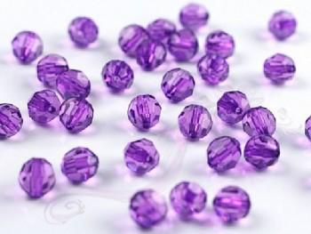 Krystalové korálky 10mm, lila 731189101