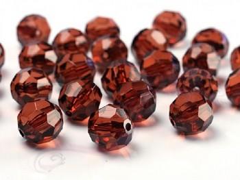 Krystalové korálky 10mm, hnědé 731189103