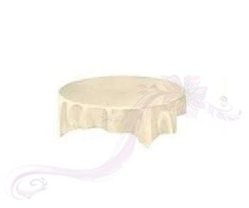 Saténový ubrus krémový 731190474