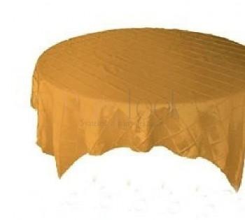 Saténový ubrus zlatý 731190575