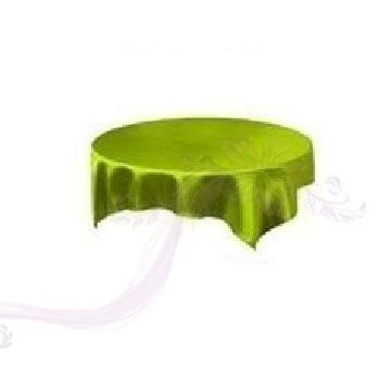 Saténový ubrus zelený 731190640