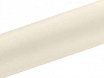 Satén v roli krémový, šířka 16 cm, návin 9 m 731232844