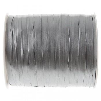 Stuha raffia stříbrná, 5 mm x 25 m 731235010