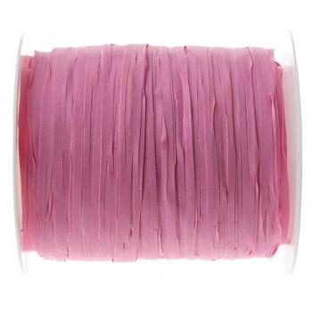 Stuha Raffia růžová, 5 mm x 25 m 731235007