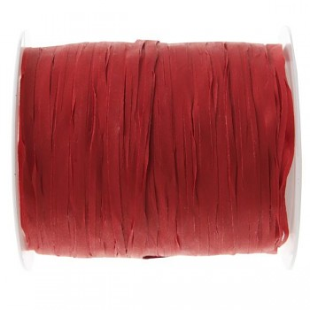 Stuha Raffia červená, 5 mm x 25 m 731235006