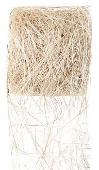Stuha ivory z kokos. vláken 70mm/5m 731251986