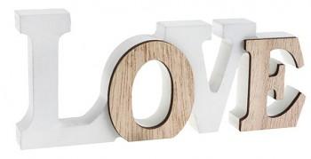 Dřevěný nápis LOVE 731251786