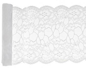 Krajka na stůl bílá 3mx18cm 731251797