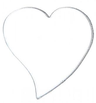 Zrcadlové srdíčka konfety, 10ks 731251980