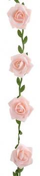 Girlanda s růžemi růžové 120 cm 731251788