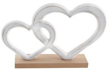 Dekorace dřevěné srdce 731251785